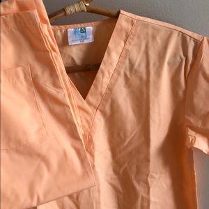XS adar peachy scrubs NEW